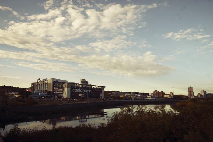 Осенний Челябинск Челябинск, Фотография, Рассвет, Осень, Длиннопост
