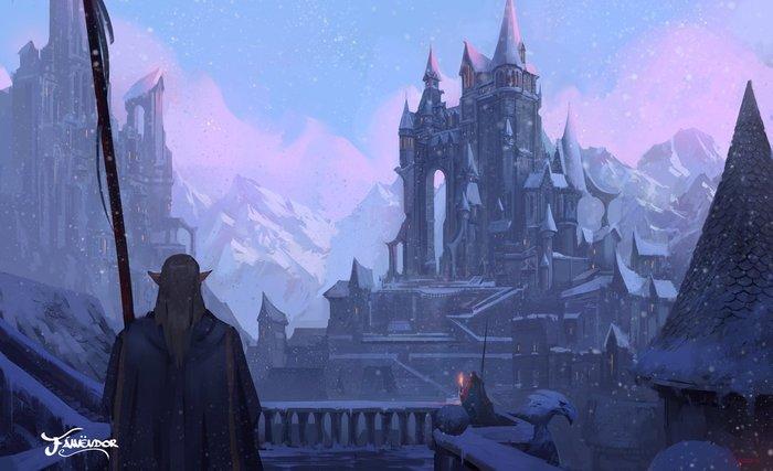 Вкратце о снежных эльфах Длиннопост, Расоведение Баюна, The Elder Scrolls, Фалмеры, Эльфы