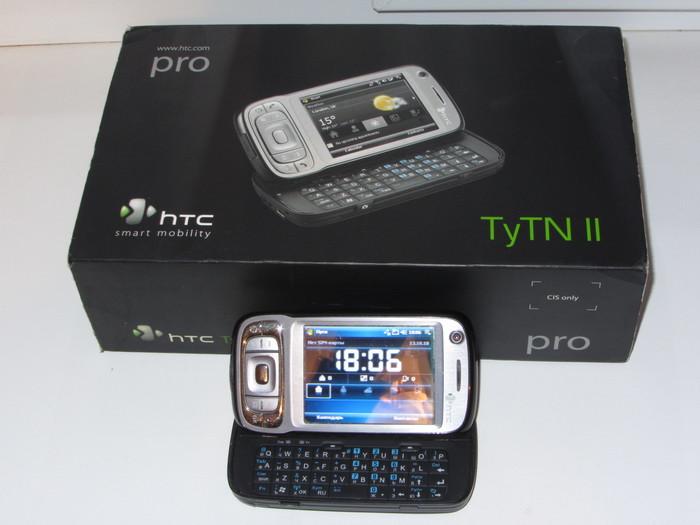 Топ Коммуникатор из 2007 года! HTC TYTN II он же Kaiser на Windows Mobile. Мобильные телефоны, КПК, Смартфон, HTC, Windows Mobile, Длиннопост
