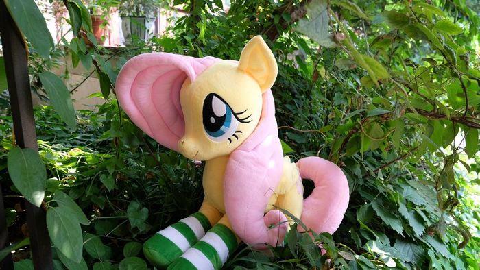 Fluttershy My Little Pony, Мягкая игрушка, Fluttershy, Плюшка, Плюшевые игрушки