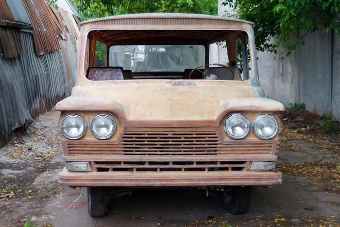 Старт 1963 - Советский микроавтобус Драйв, Авто, Длиннопост, Микроавтобусы, Старт, Сделано в СССР