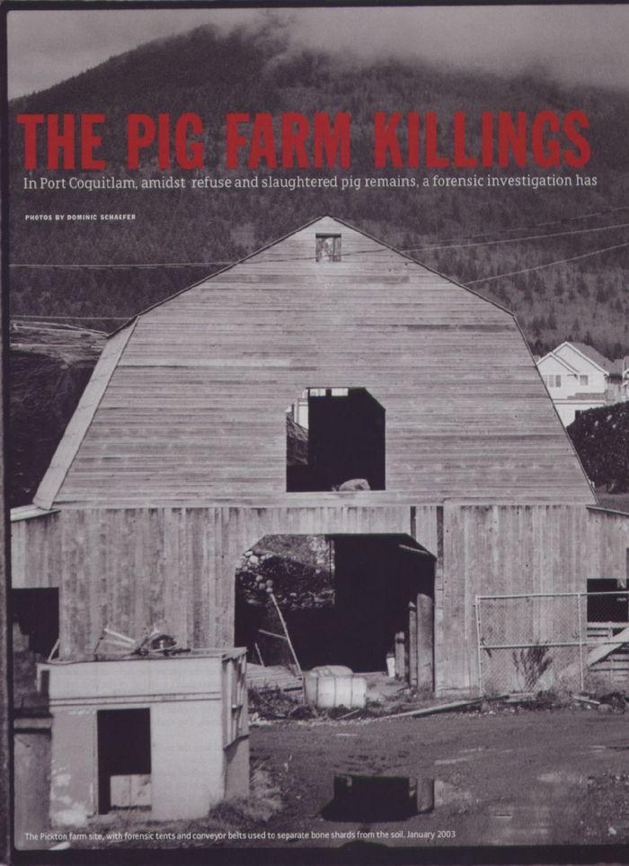 «Убийца-свинопас»: история канадского маньяка. Часть 1. Роберт Пиктон, Серийный убийца, Убийство, Маньяк, Длиннопост