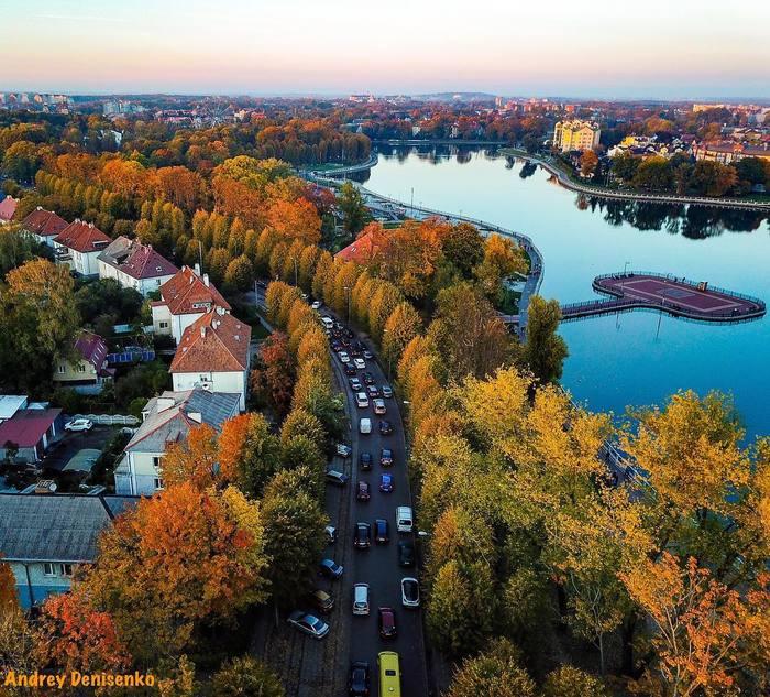 Октябрь в Калининграде.. Калининград, Октябрь, Осень