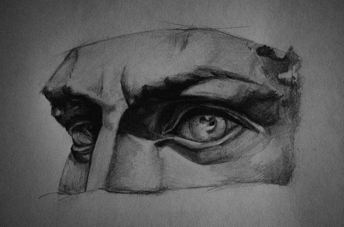 Взгляд Рисунок, Рисунок карандашом, Взгляд, Простой карандаш