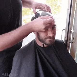 Модная причёска