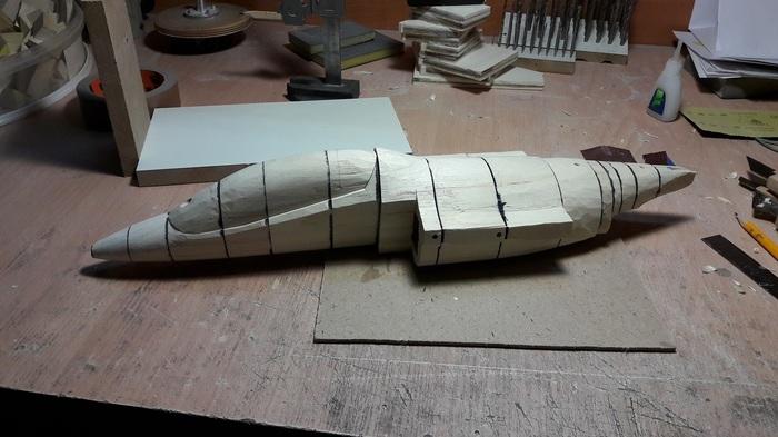 Мастер-макет самолета Як-130 часть 1 Макетчик, Макет, Самолет, Як-130, Длиннопост