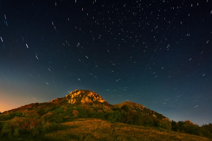 Вальс осенних звезд Осень, Ночь, Звездные треки, Горы