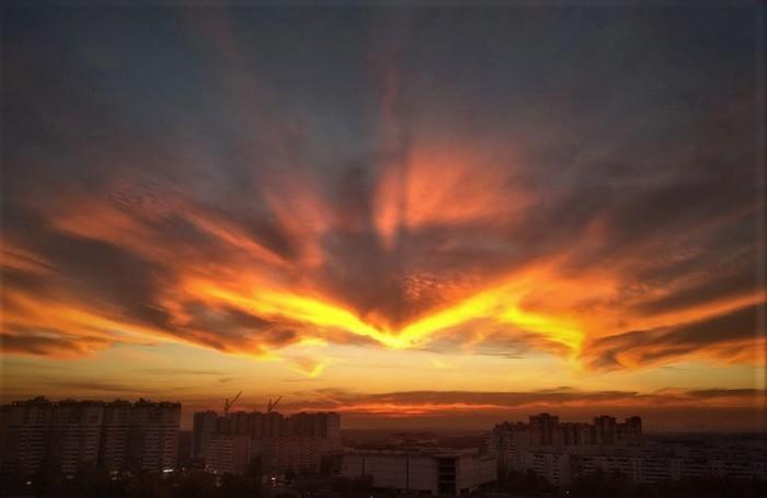 Закат Закат, Фото на тапок