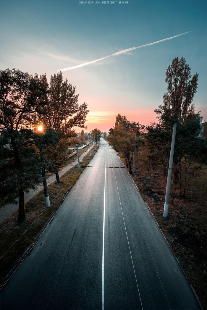 Дорога домой. Nikon D610 | 14-24