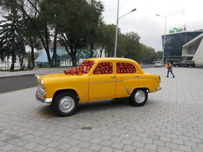 Applecar уже в Алматы