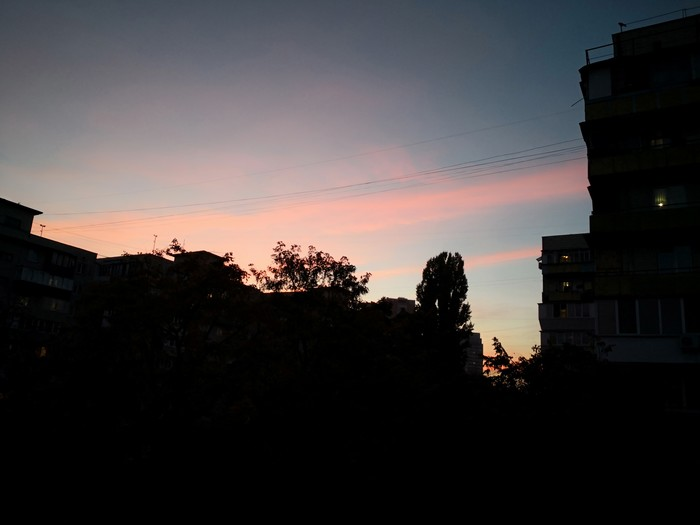Красные облака Красивый вид, Небо, Облака, Красные, Кровавые