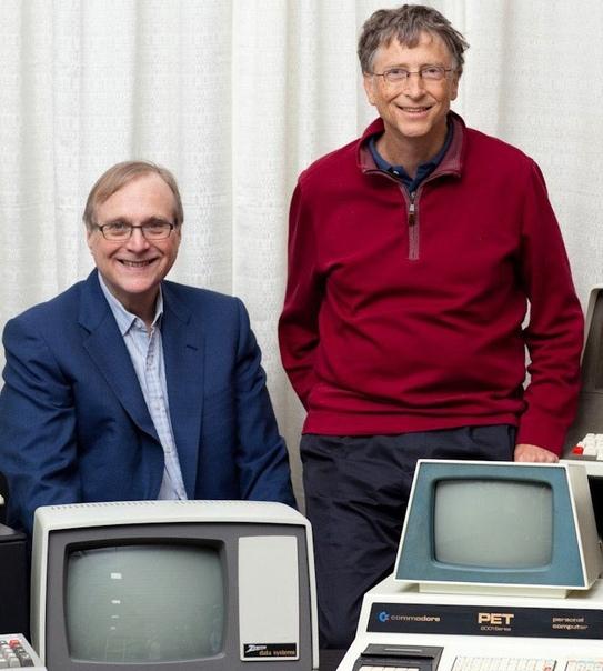 Умер сооснователь Microsoft Компьютер, Microsoft, Билл Гейтс, Пол Аллен, Рак, Некролог