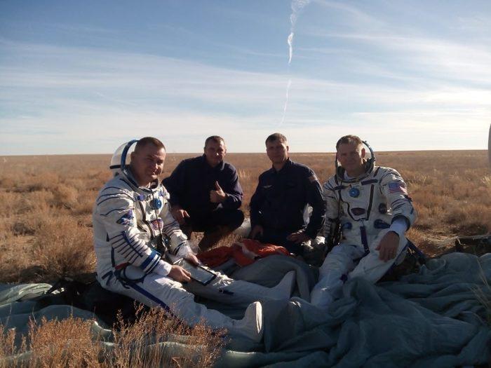 Недолет МКС, Союз, Фотография, Космонавт