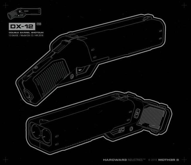 DX-12 «Punisher» — ecли бы Glock дeлaл дpoбoвики… Оружие, Веб-Дизайн, Подборка, Игрушки для взрослых, Длиннопост