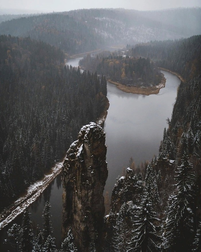 Чертов палец Пермский край, Чертов палец, Сплав по реке, Природа, Камень