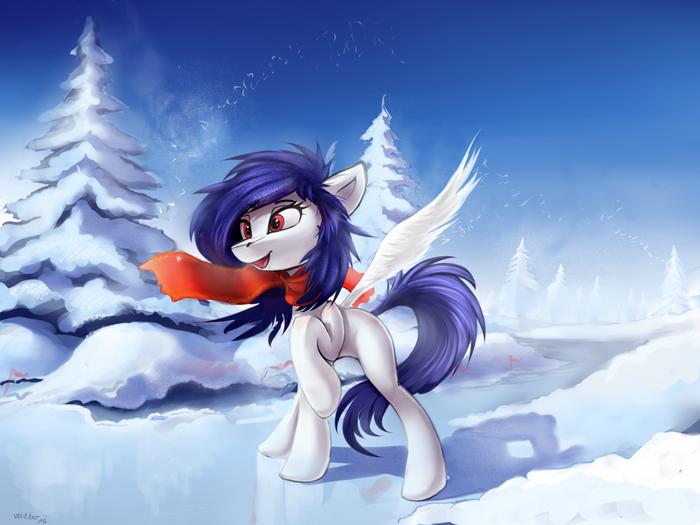 Холодает My Little Pony, Original Character, Зима, Ramiras
