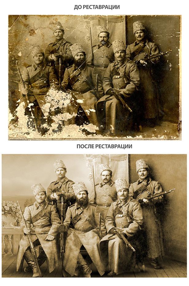 Фотореставрация Ретушь, Старое фото, Колоризация, Фотошоп мастер, Длиннопост