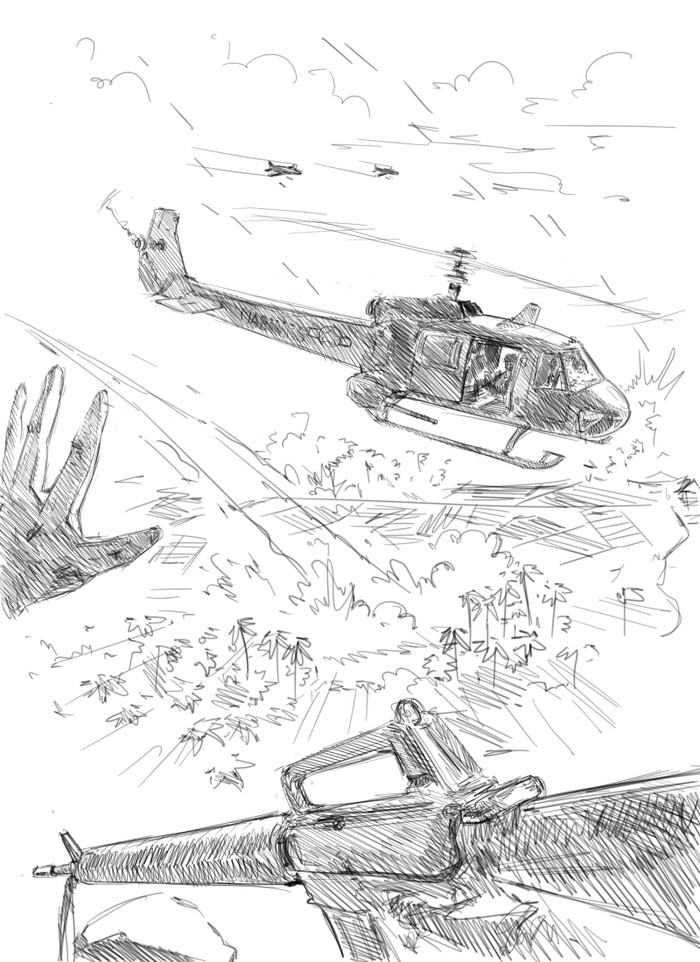 Вьетнамский быстрорисунок Рисунок, Цифровой рисунок, Скетч, Война, Вьетнам