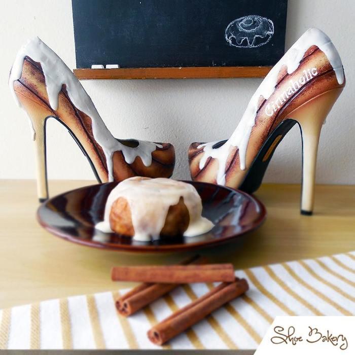 Дизайнер из Флориды делает туфли, которые не отличить от десертов Обувь, Дизайн, Длиннопост