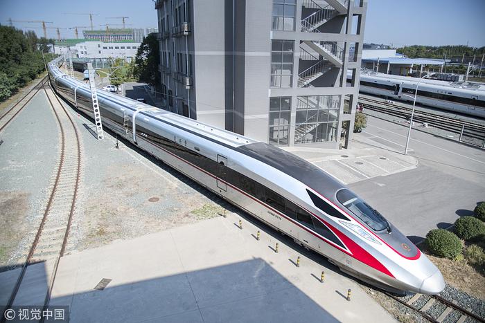 В Китае проходят испытания самой длинной модификации скоростного поездаFuxing Китай, Поезд, Испытания, Железнодорожный транспорт, Техника, Длиннопост