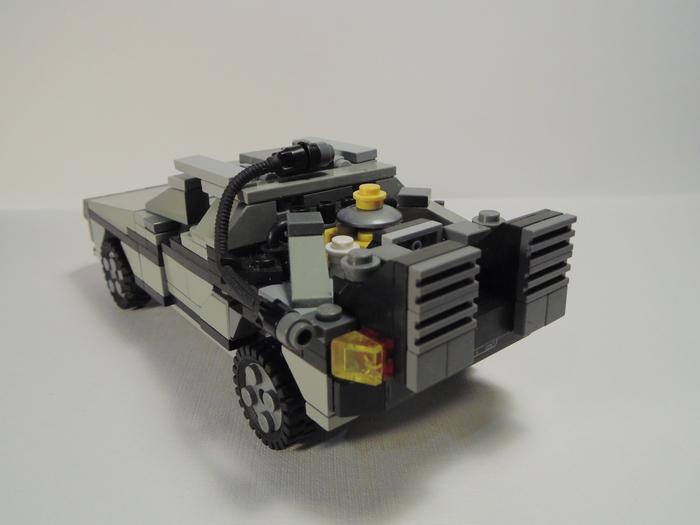 Самоделка машины времени DeLorean DMC-12: Версия первая LEGO, Назад в будущее, Delorean, Длиннопост