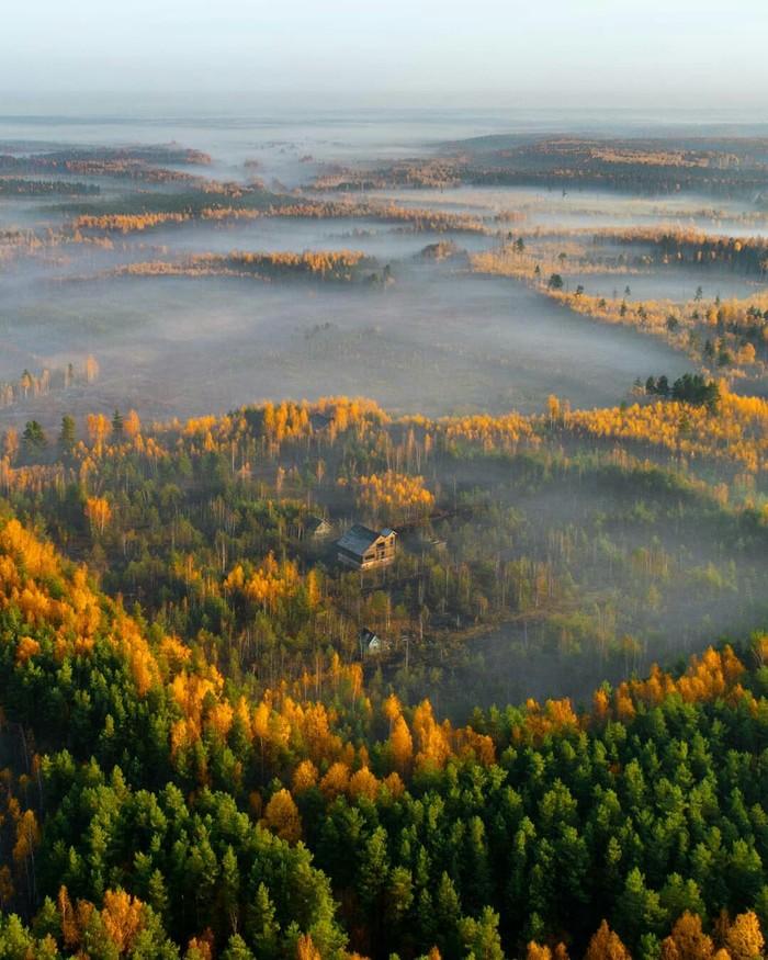 Покров в тумане, Владимирская обл.