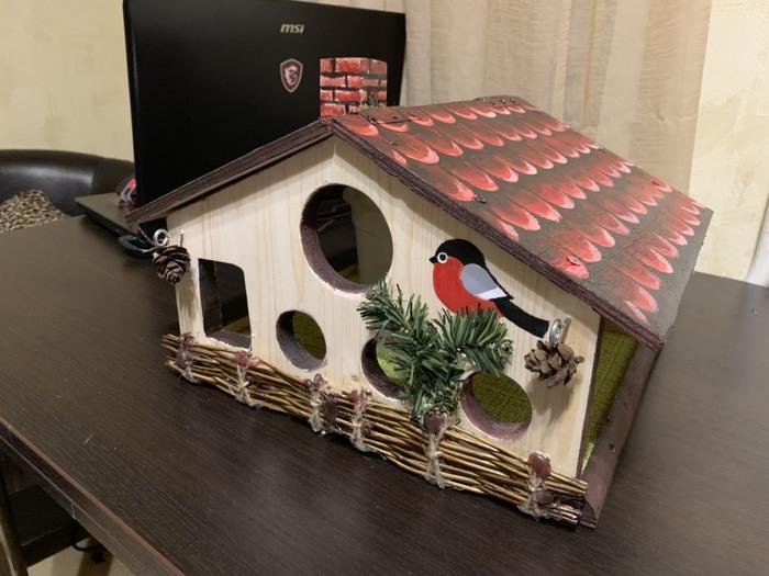 Пятничное моё Пятничное, Кормушка для птиц, Детский сад, Длиннопост