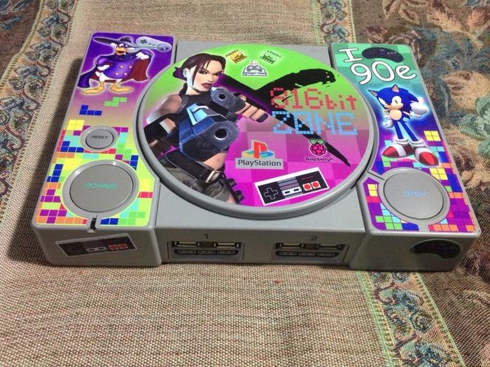 Игровая приставка своими руками Vol-2 Игры, Приставки, 90-е, Детство, Малинка, Raspberry pi 3, Своими руками, Видео, Длиннопост