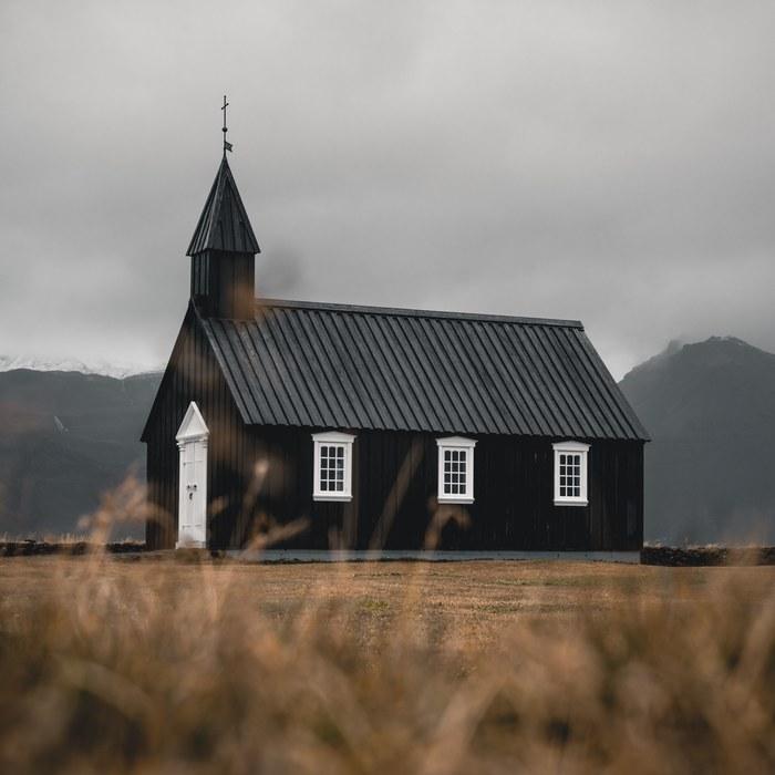 Исландия, церковь Budakirkja Исландия, Фотография, Путешествия, Церковь, Скандинавия, История, Религия, Свадьба