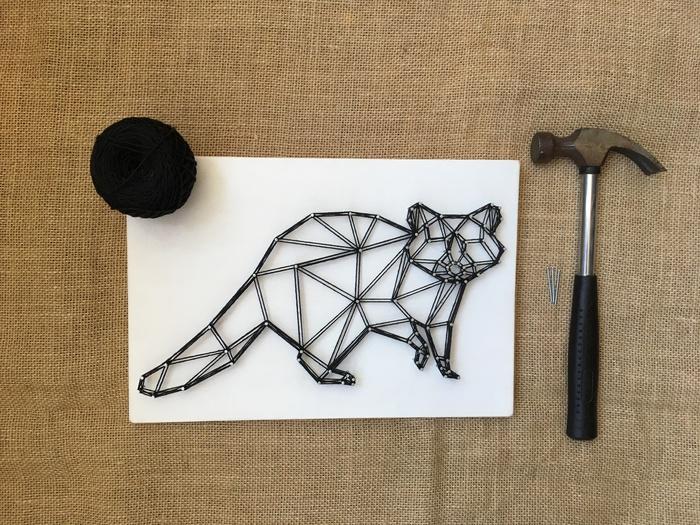 Видеоурок string art. Создаем своими руками картины из гвоздиков и ниток в стиле геометрия Интерьер, Ручные, Подарок, Эксклюзивное решение, Видеоуроки, Мастер-Класс, Ручная работа, Сделай себе сам, Видео
