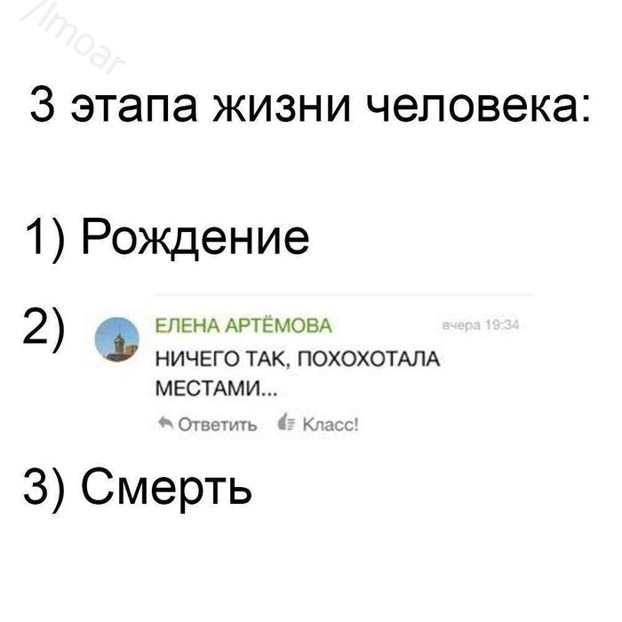 Три этапа