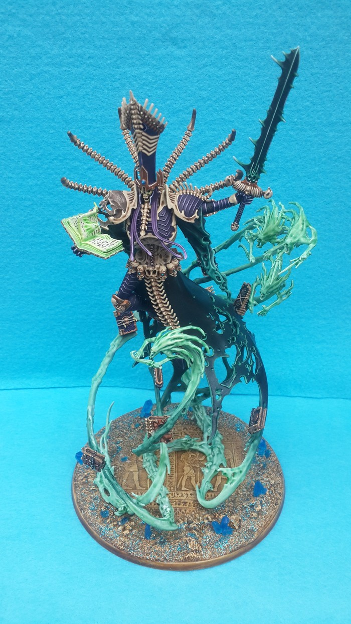 Nagash. Supreme lord of the undead. Warhammer: Age of Sigmar, Nagash, Modelling, Undead, Видео, Warhammer Fantasy Battles, Гифка, Длиннопост