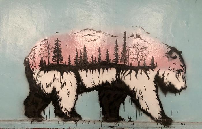 В заброшенной школе живет медведь Фотография, Рисунок, Школа, Заброшенное, Медведь, Териберка, Мурманск, Мурманская область