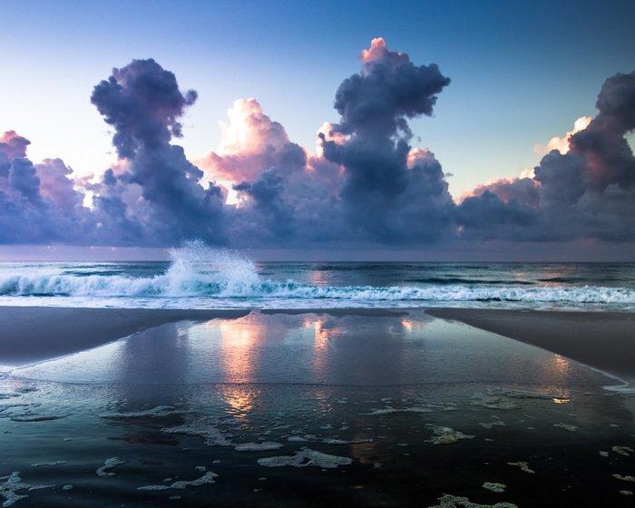 Утренний океан