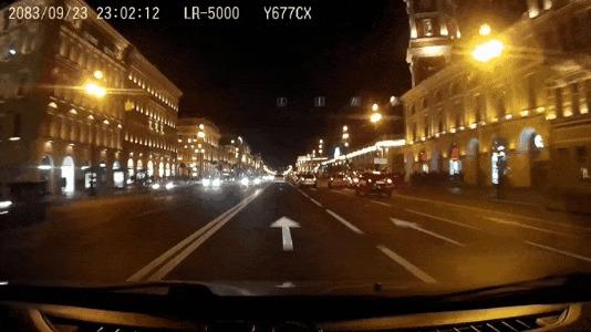 Попрыгун ДТП, Санкт-Петербург, Перестроение, BMW, Прыжок, Гифка, Видео, Видео с регистратора, Видеорегистратор