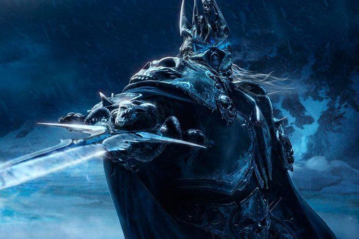 В детстве играл в Варкрафт Warcraft, Флешмоб, Артас менетил