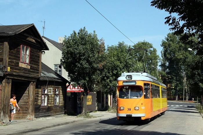 Польский трамвайчик