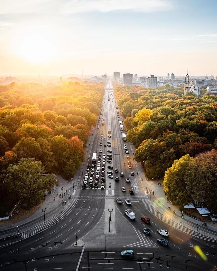 Тиргартен осенью.. Фотография, Германия, Красота