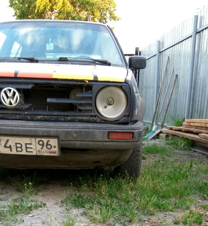 Vw golf 2 Volkswagen Golf, Авто, Классика, Восстановление, Восстание машин, Своими руками, Длиннопост