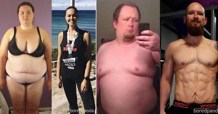 Изменения тела после серьезной потери веса Толстяк, Толстушки, Похудение, Здоровье, Длиннопост, Сила воли