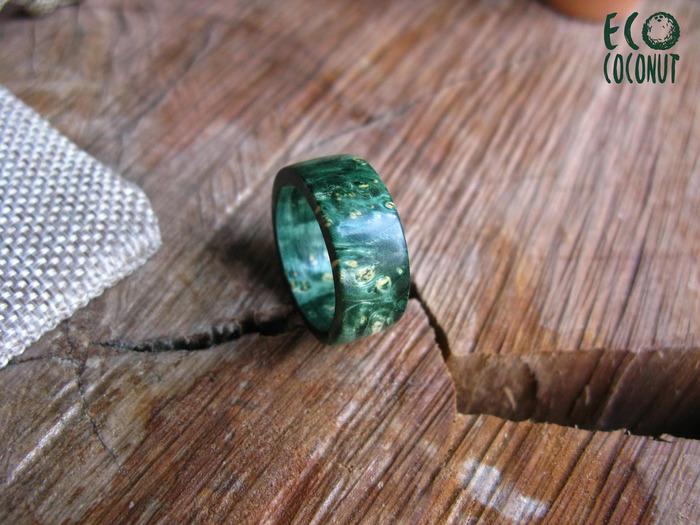 Простые кольца из необычного дерева Рукоделие без процесса, Кольца стаб, Кольцо из дерева, Кольцо, Яркие цвета, Деревянные украшения, Длиннопост