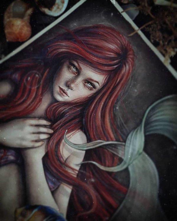 Princess Ariel DeviantArt, Арт, Рисунок, Мультфильмы, Русалочка