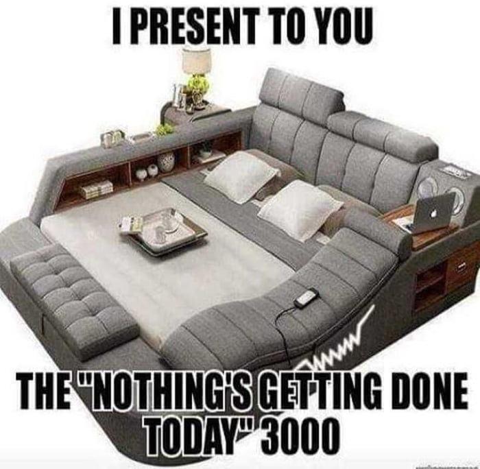 Дизайн комфортного дивана / кровати