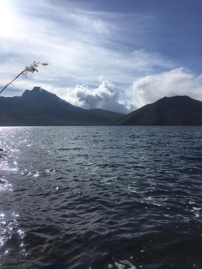 Рыбалочка... Рыбалка, Эквадор, Русские в эквадоре, Релакс, Лагуна, Длиннопост