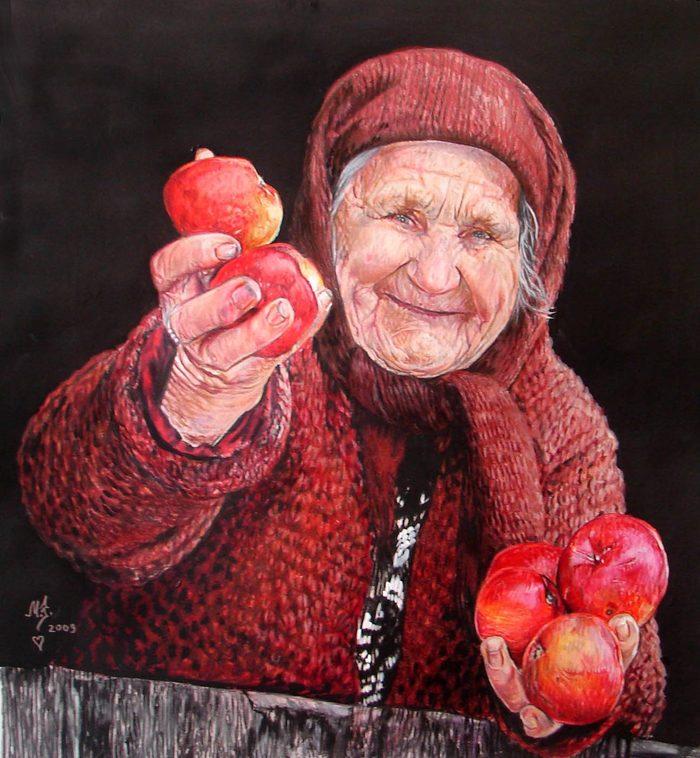 О наших бабушках-старушках... Бабушка, Бабушки и дедушки, Былое и думы, Длиннопост