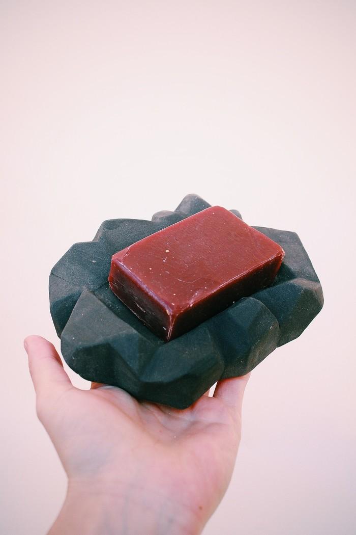 Набор для ванной из керамики. Заказ. Минимализм, Черный, Керамика, Handmade, Длиннопост