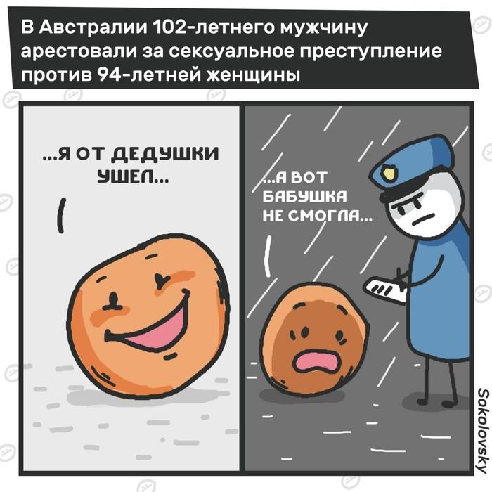 Старость в радость Новости, Старость, Домогательство, Комиксы, Sokolovsky!