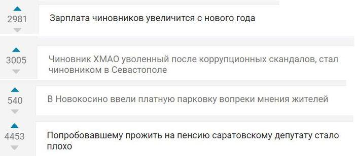 Последние Новости на Пикабу Без рейтинга, Депутаты, Чиновники