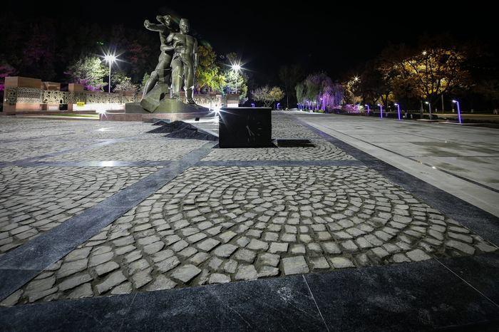 Монумент «Мужество» в Ташкенте после реставрации Узбекистан, Ташкент, Монумент мужества, Видео, Длиннопост