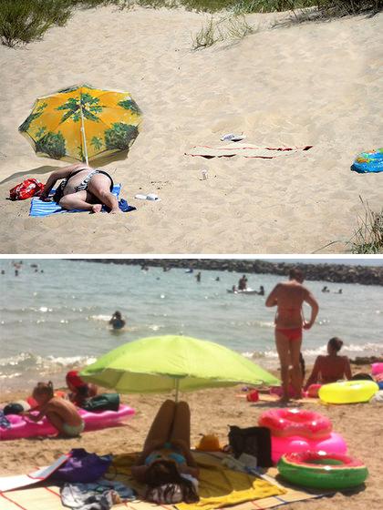 Как правильно держать зонт Пляж, Море, Лето, Зонт, Самса, Пахлава медовая, Чурчхела